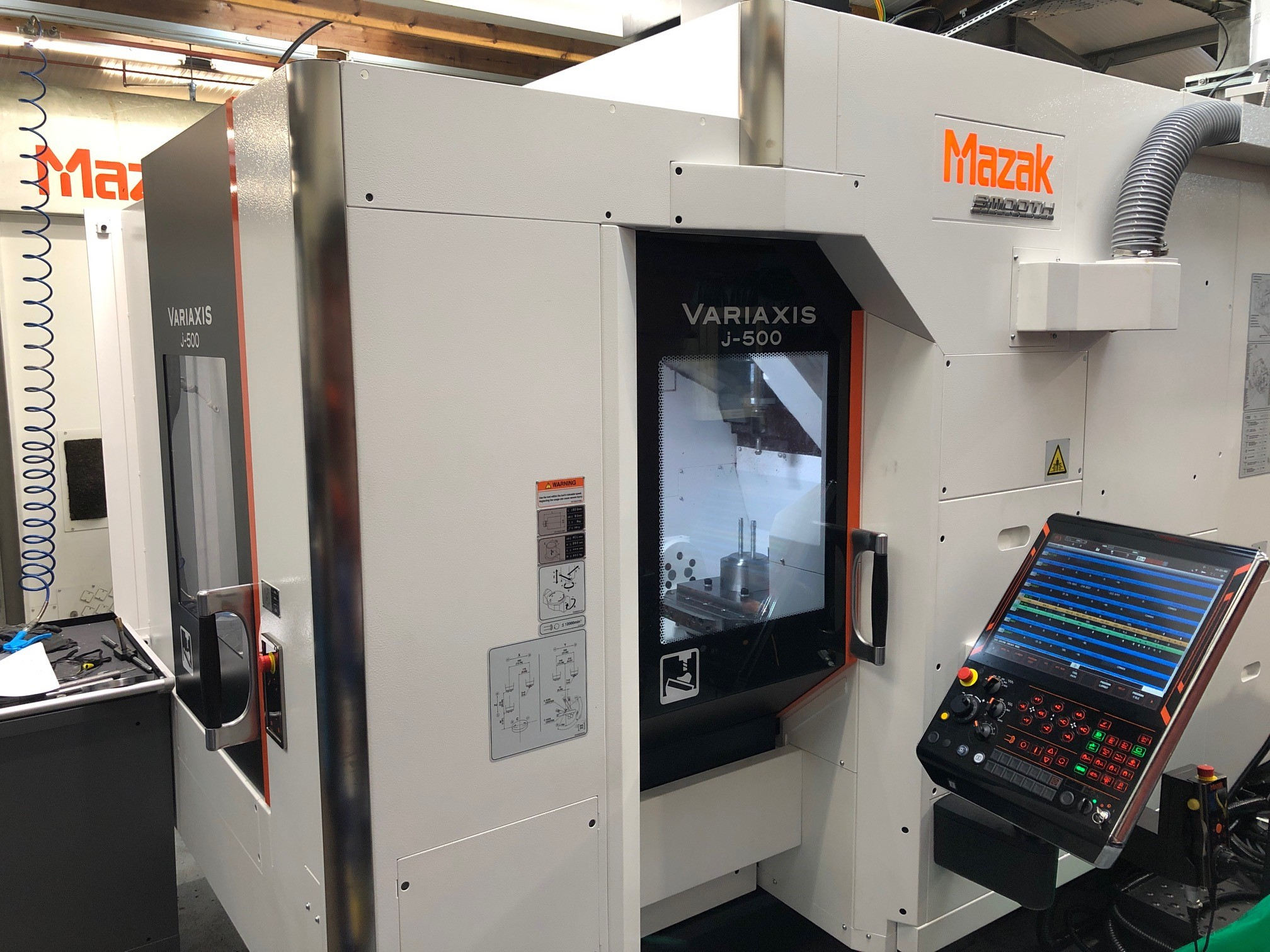 Another Day, Another New Machine – Variaxis J-500